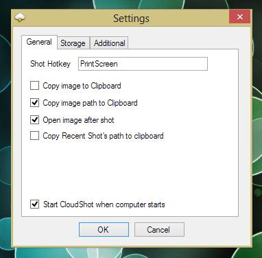 CloudShot — простая и удобная программа, делающая снимки экрана и размещающая их в Dropbox