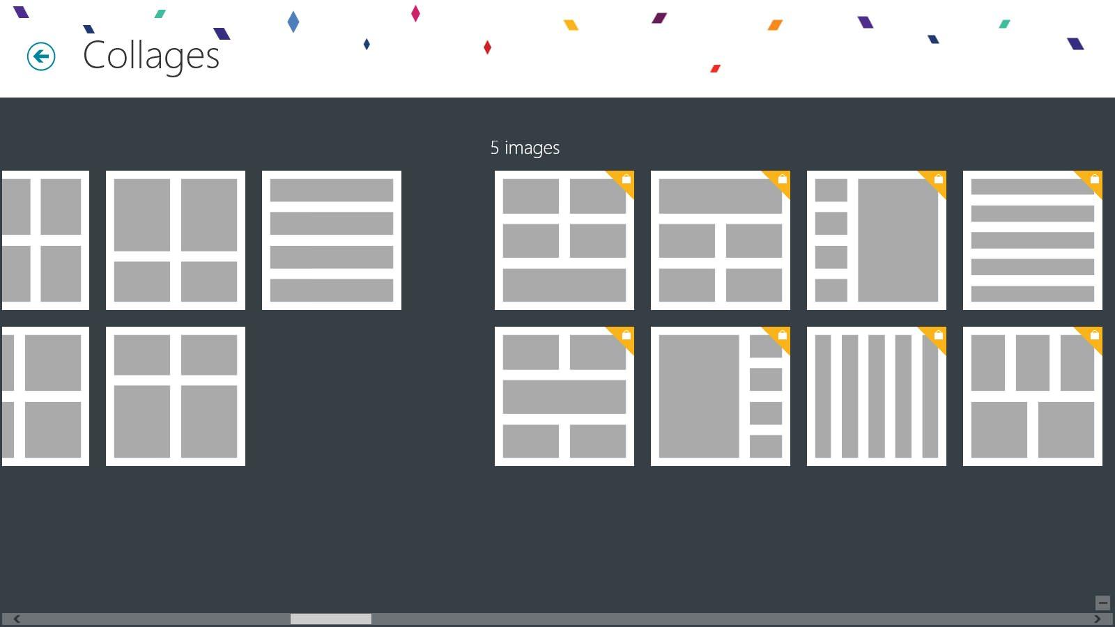 Phototastic — удобная программа для составления фотоколлажей на планшете