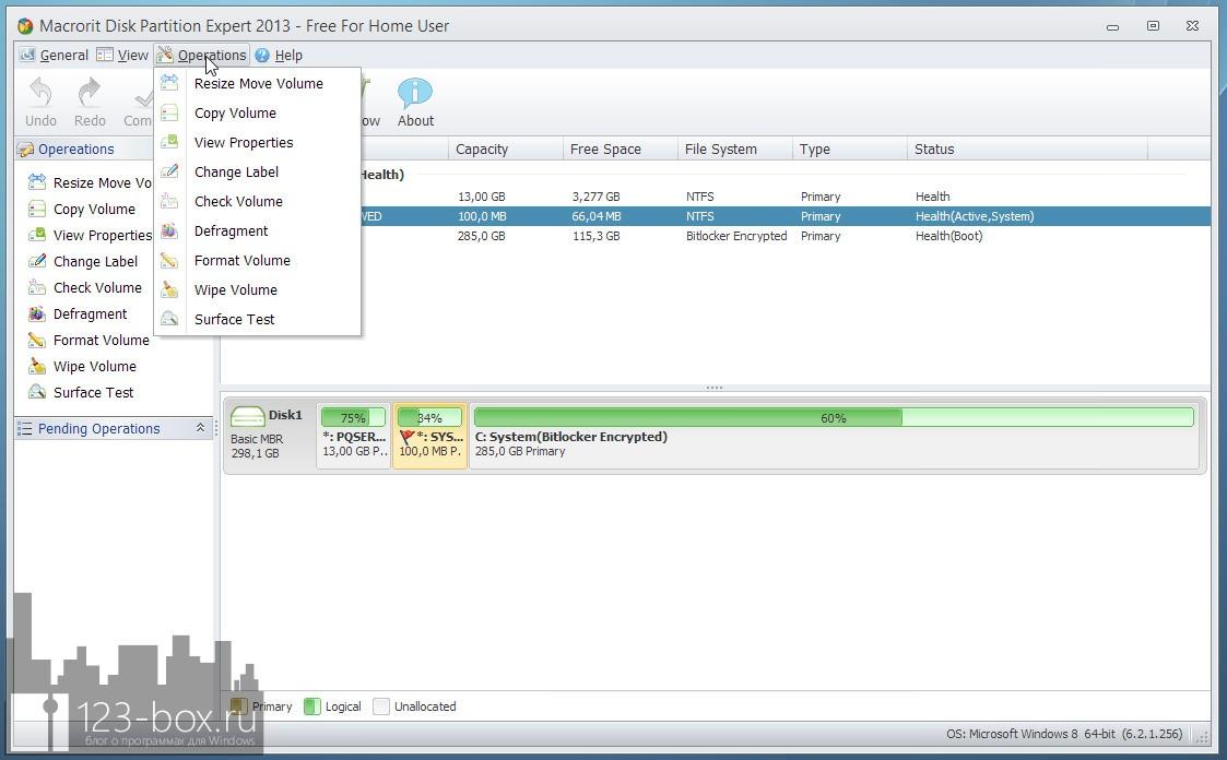 Macrorit Disk Partition Expert — удобный помощник в управлении разделами на жестких дисках