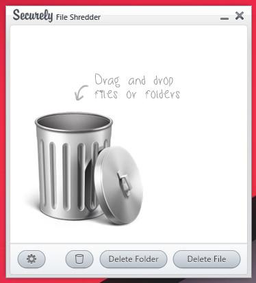Securely File Shredder — программа для безвозвратного удаления файлов и папок