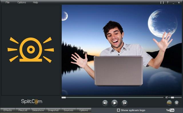 SplitCam — программа, добавляющая эффекты для видео, получаемого с веб-камеры
