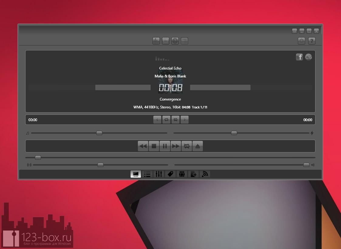Impulse Media Player — домашняя музыкальная станция