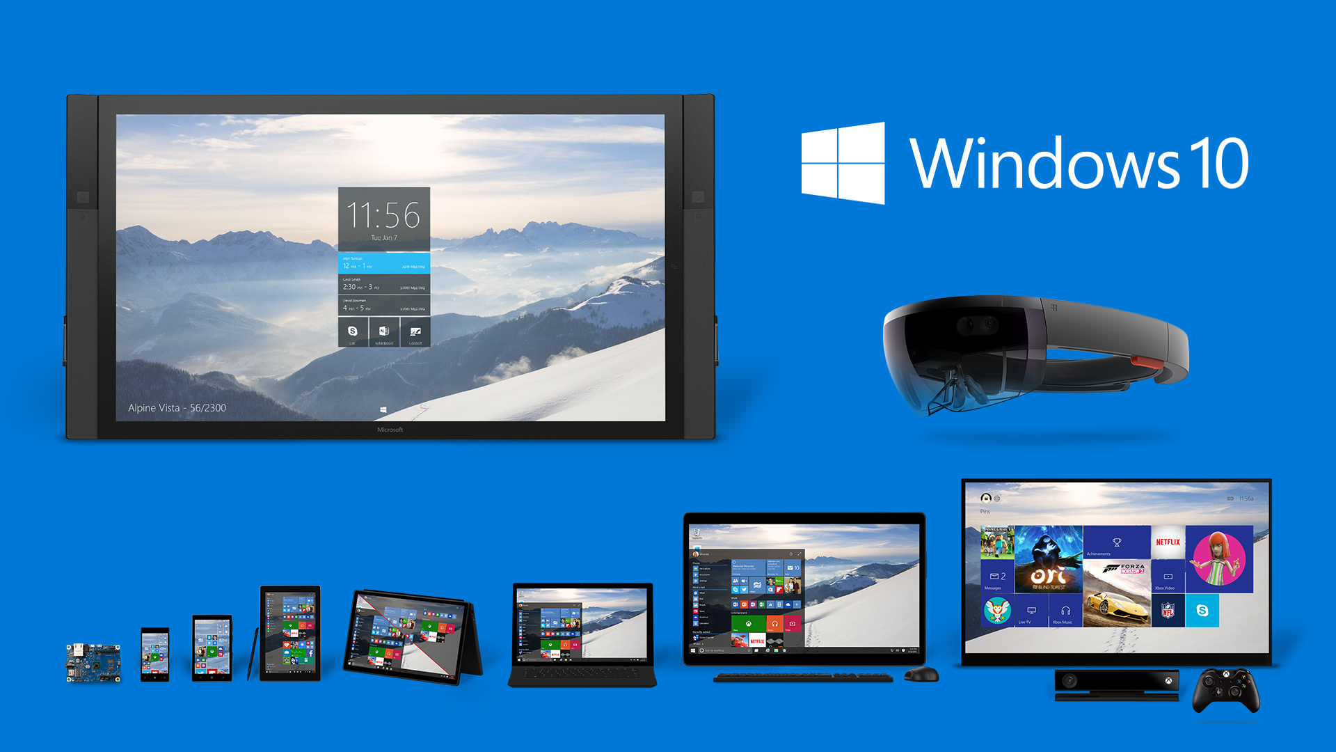 Что нас ждет в Windows 10