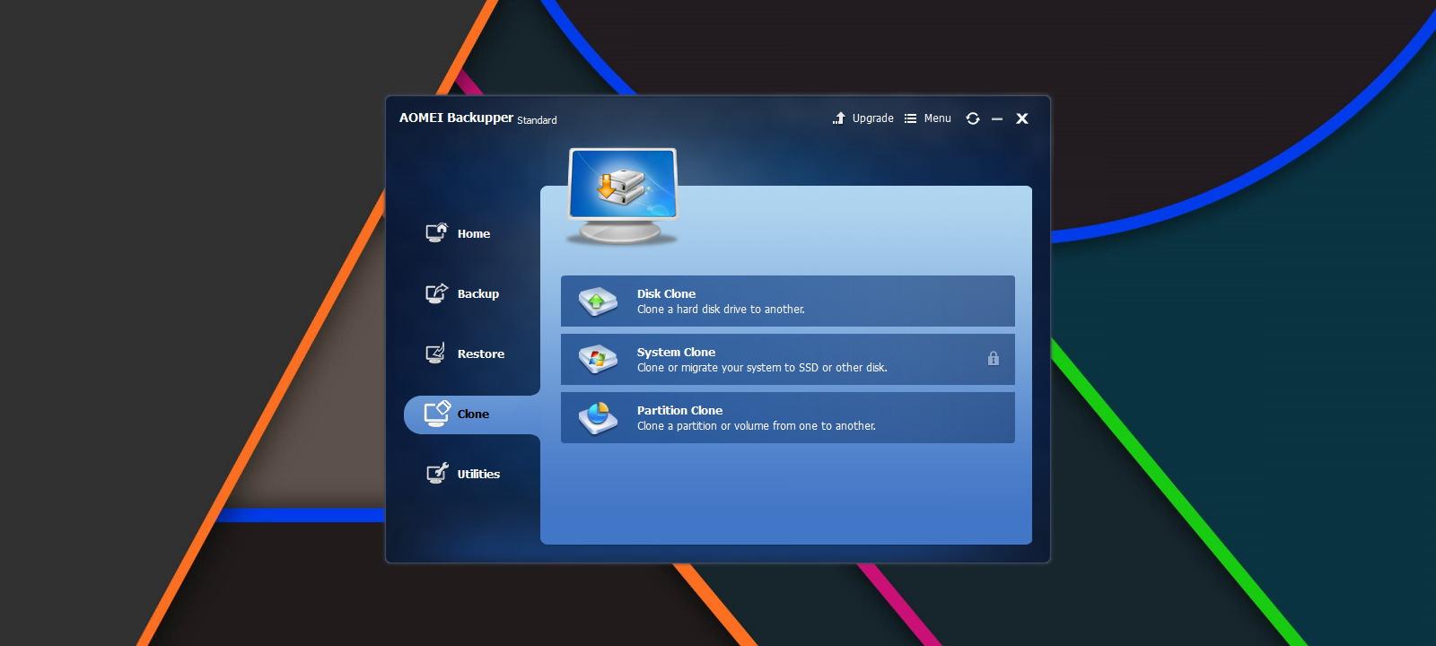 AOMEI Backupper — удобная программа для резервного копирования и восстановления системы