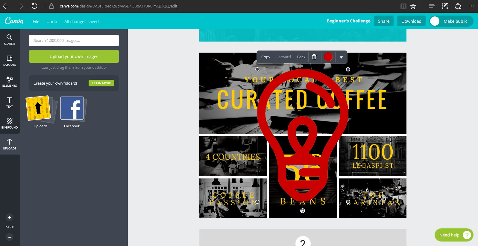 Canva — онлайновое приложение для работы с фотографиями